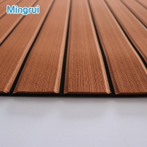 CNC Grooved & Brushed Boat Flooring For Boat