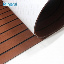 Boat Decking Sheet With Faux Teak