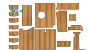 Marine foam boat deck flooring