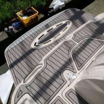 boat slip adhesive swim deck pads