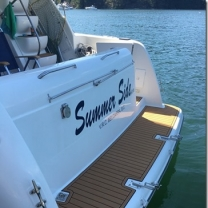 marine boat swim platform deck pads